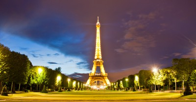 Eifel Tower at night