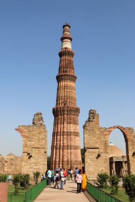 Qutub Minar - a view seen in the history books