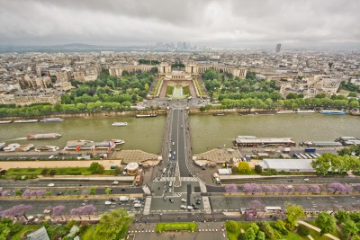 Views from the Eifel Tower