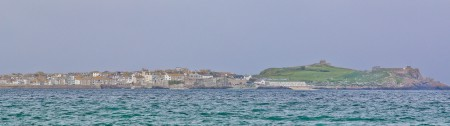 St Ives from a distance