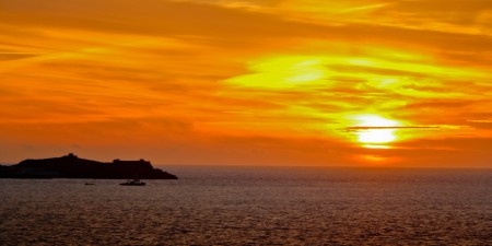 Sunset at St Ives