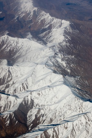 Mountain range in Afghanistan