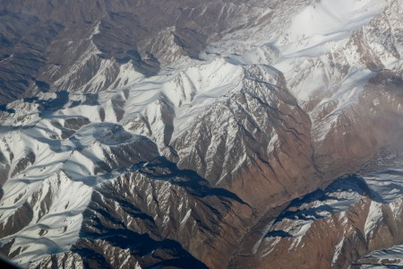 The terrain of Afghanistan