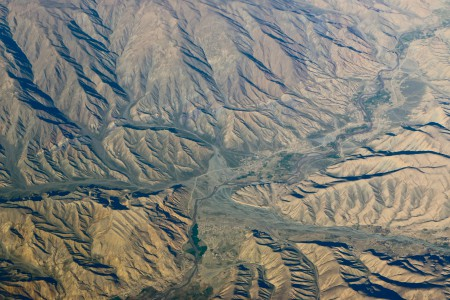 Valleys in Afghanistan